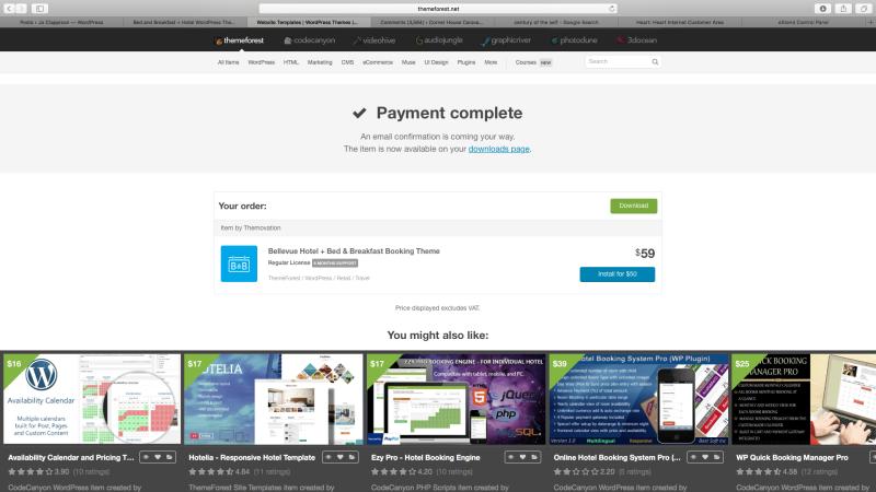 Bellevue payment complete